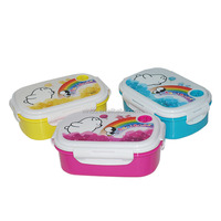 Polystyrene silicone food container