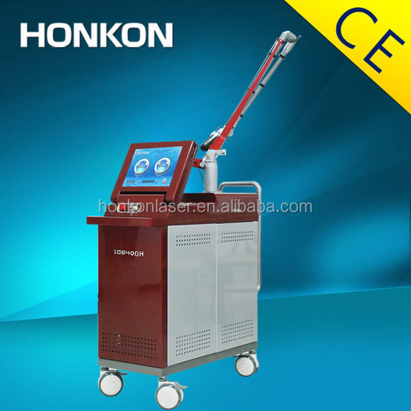 HONKON-1064QGH Pigmentations reductions uch as sunpots and freckles laser machine for tattoo removal