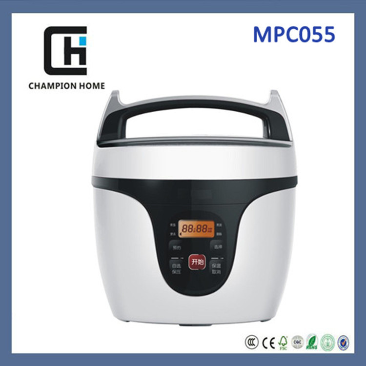mini latest model micro-computer electric pressure cooker with ETL/CETL/CE/CB certificates