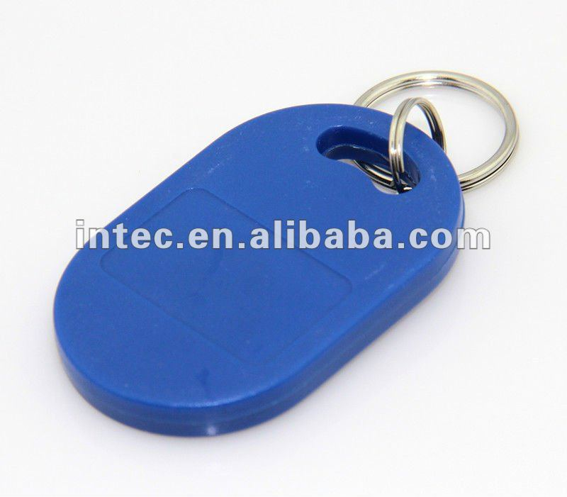 IC key tag RFID keyfob S50 keyfob key tag 13.56MHz