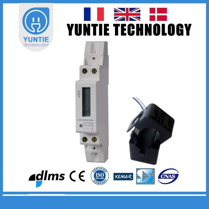 Grid-connected photovoltaic power system Home Solar Single Phase Mini electrical energy Meter