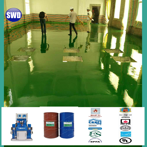 moisture cure polyurethane industrial painting