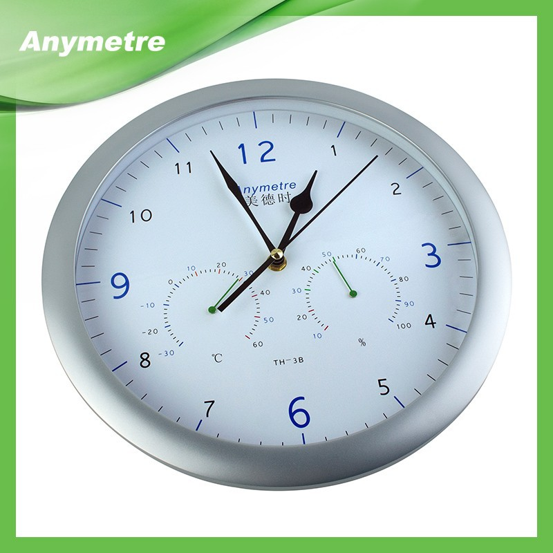 Good Quality Wall Clock With Barometer And Thermometer ...