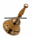 Brass Hand Bells With Brass Polished Finish