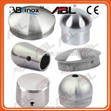 "Newest 304 stainless steel end caps inox 304 Pipe Fittings 304 stainless steel 4"" rubber end caps"