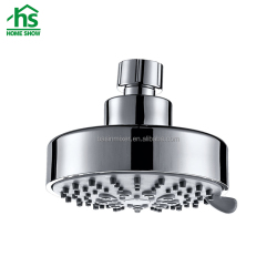 Modern Round Shaped High Pressure Massage Head Shower