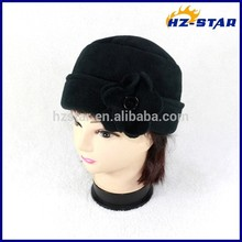 HZW-14222004 Wholesale protected winter ski warm cap single color hat