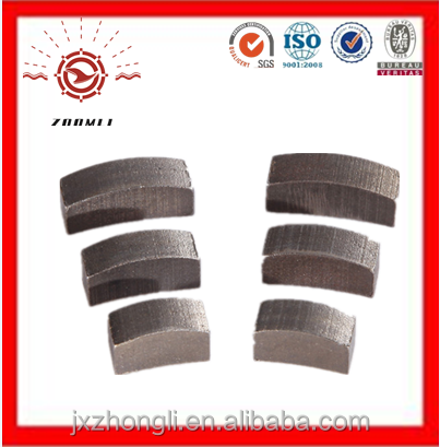 concrete diamond core drill bit and diamond segment