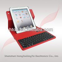 rotary QWERTZ keyboard for ipad 2/3/4 with qwertz design for Germany market