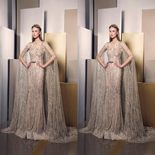 High Quality Beautiful Wedding Dress Gold Evening Dresses Made In China