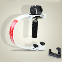 FLYCAM Flyboy-III DSLR Stabilizer With GoPro / IPhone Adapter Supporting Cameras weighing upto 800gm / 1.8lbs (FB3-W-GPI)