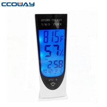 OW-E17 digital lcd thermometer& hygrometer
