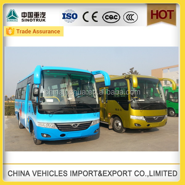 23 seats king long price coaster buses slg6660c3f for sale in nepal