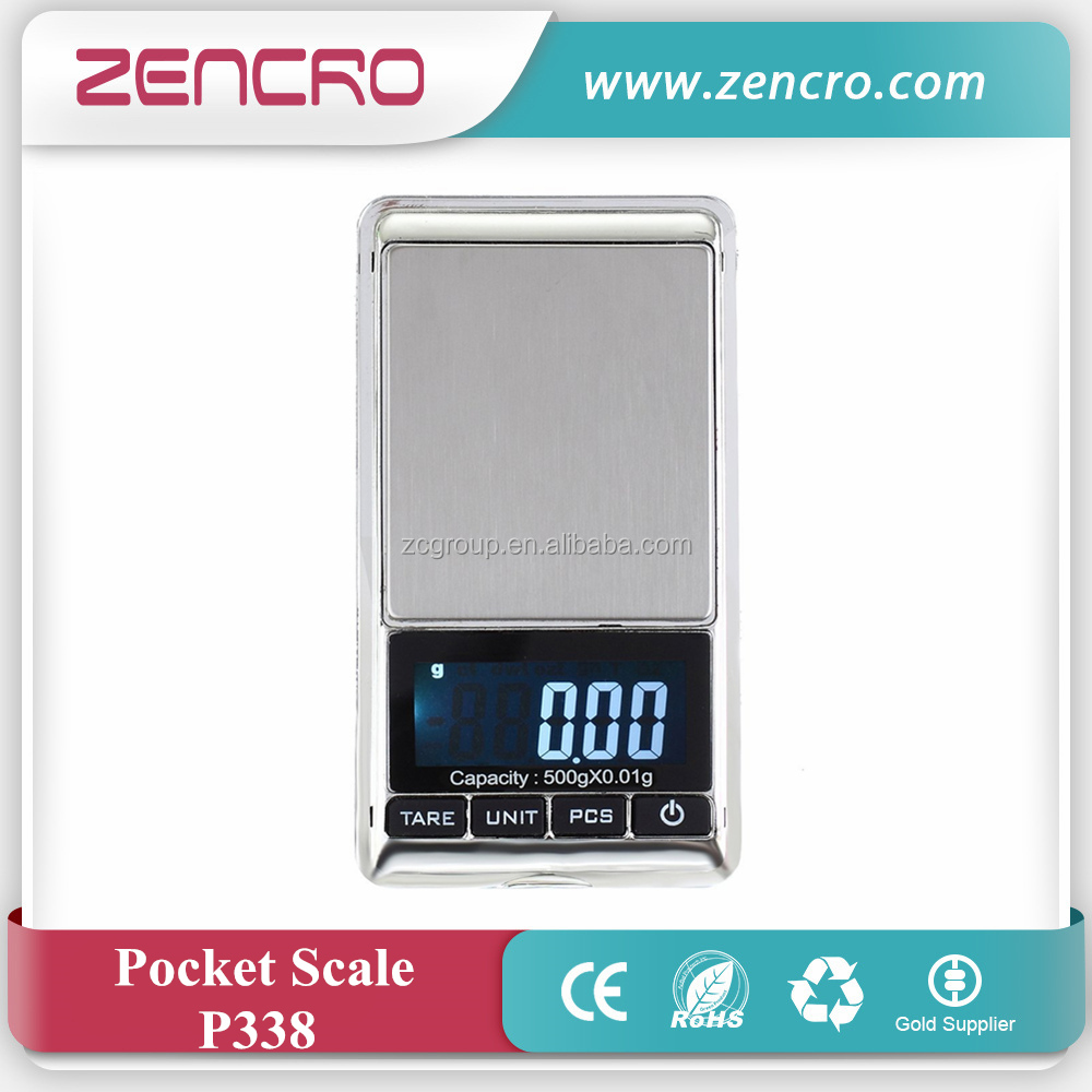 Zencro Electronic LCD Display scale Mini Pocket Digital Scale 200g*0.01g Weighing Scale g/oz/ct/tl Weight Scales Balance