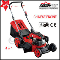 "20"" 4-in-1 CE gasoline lawn mowers KCL20P 196CC"