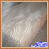 Wholesale decorative ceiling mdf board wave board