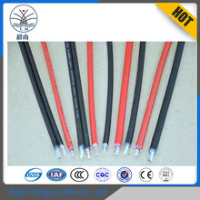 TUV Certification XLPE/LSZH Insulation tinned copper black or red 2mm2 4mm2 6mm2 8mm2 10mm2 Photovatic dc solar battery cable