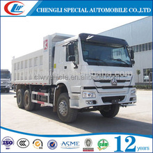 10 wheels 20m3 loading capacity tipper truck with 12.00R24 tire