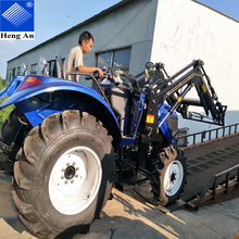 YTO 1204 big farm tractor 120hp with CE