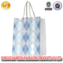 Stock paper shopping bag for promotional