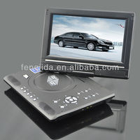 7 inch large screen portable dvd player with tv