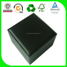 Select raw material wooden watch box for top with CE certificate