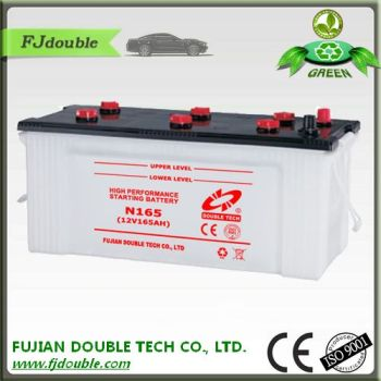 12v 165ah lead acid batteries for hybrid car