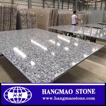 Top quality spary white granite slab tiles