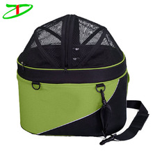 2017 new faction traveling 2-in-1 pet bicycle front bag bike basket dog carrier