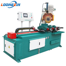 Angle orbital cold cutting machine hydraulic steel pipe cutter