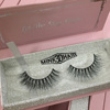 pink magnetic box with silver inner box for private label 3d mink eyelashes