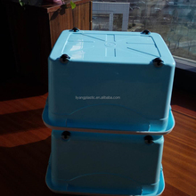 60L Square Storage Box Plastic Storage Container Household Bin for Sale