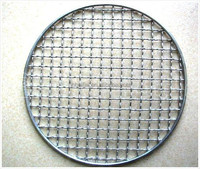 round shape edge covering barbecue BBQ wire mesh without handle