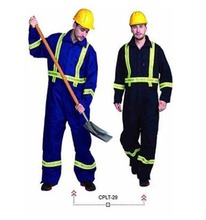 flame resistant coverall and boiler suit clothing