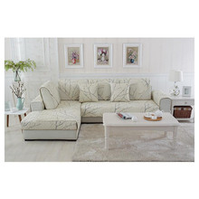 Cotton twill sectional leather sofa seat cushion