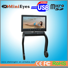 "8"" 350 Angle Swiveling Central armrest TFTcar LCD Monitor With car DVD Player"