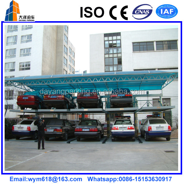 mechanical lift slide car parking system for sale
