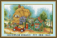 FAMOUS DIGITAL CHINESE SPRING VILLAGE DIY DIAMOND HOME PAINTING FOR THE HOME OF COUNTRYSIDE