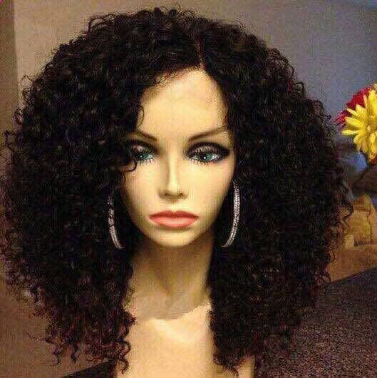 afro Kinky curly virgin remy human hair bob wig for black women blonde ombre dreadlock wig