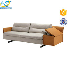 Home space-saving sofa bed with drawer victorian style leather sofa