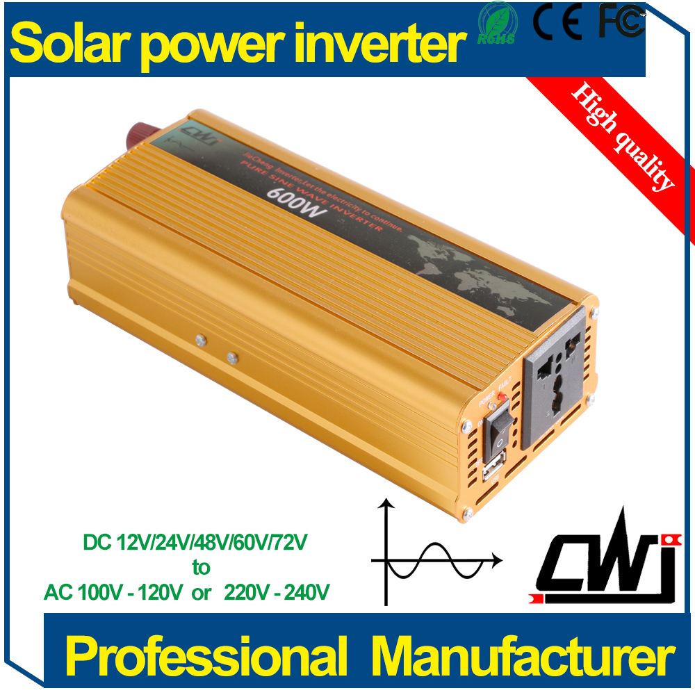 600W <strong>DC</strong> 72V to AC variable frequency drive Type Pure Sine Wave Inverter fast delivery