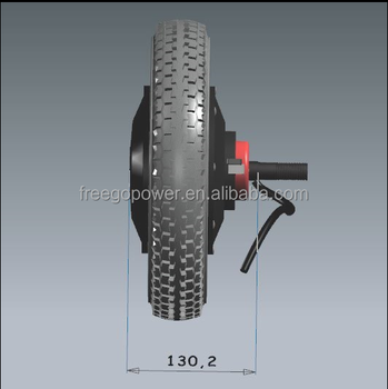 12inch 24V 200W DC electric wheel hub motor for scooter