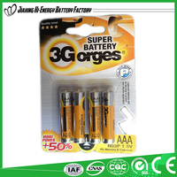 High Performance Efficient Energy Dry Cell Battery 1.5V Aaa