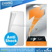 0.3mm round angle anti shock screen protector for apple ipad 2