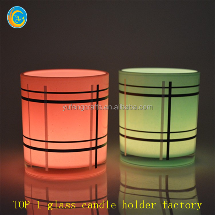 wholesale glass containers candle warmers craft