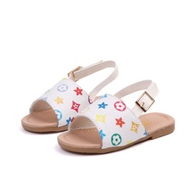 Kids Fashion design girls summer sandals wholesale baby boutique casual shoes