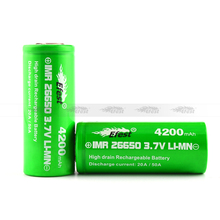 Bestselling Efest imr 26650 4200mah green 50amp battery purple 4200mah in stock too