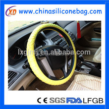 Silicone Power Grip Steering Wheel Handle Cover
