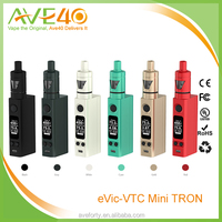Update Version eVic VTC Mini Tron E-Cigarette Set - Gray (produced by Joyetech) 75W Temp Control Mod