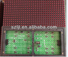 320*160 mm P10 1R LED Scrolling Text Board LED Signboard